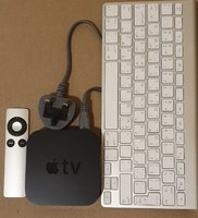 Used Apple TV 3rd gen with apple keyboard in Dubai, UAE