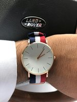 Used Nylon Strap European Style Quartz Watch in Dubai, UAE