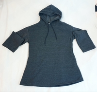 Grey Sweater with hood for Women