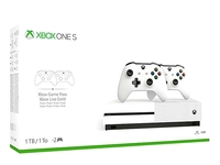 Used Xbox one S 1tb with 2 controller in Dubai, UAE