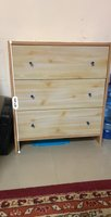 Used Wooden drawer 3 Drawer cabinet in Dubai, UAE