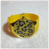 GUESS yellow watch