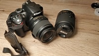 Used Nikon D3200 SLR Camera with 2 Lens Kit in Dubai, UAE
