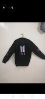 Used BTS sweatshirt sweater size 4XL.. in Dubai, UAE