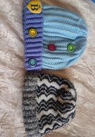Beautiful woollen caps for ages upto 6
