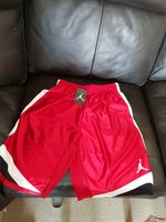 Used Air Jordan shorts new with tags M size in Dubai, UAE