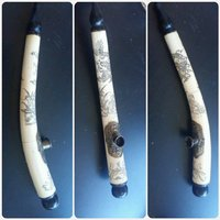 Used Antique ivory Pipe Made in Japan. in Dubai, UAE