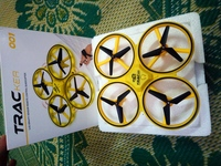 Used Drone and 2 pics Bluetooth headset in Dubai, UAE