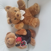 Used Teddy Bears 2 Soft Toys 🐻🐻 New! in Dubai, UAE