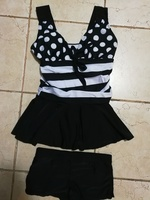 Used New ladies swimming suit 1 piece + short in Dubai, UAE