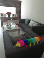 Used Grey 2 piece sofa set in Dubai, UAE
