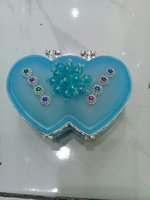 jewellery box blue