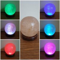 Used Salt lamp round size in Dubai, UAE