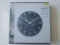 Used MARBLE WALL CLOCK BLACK in Dubai, UAE