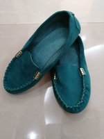 Used TURCOISE MOCASSINS 39 SIZE in Dubai, UAE