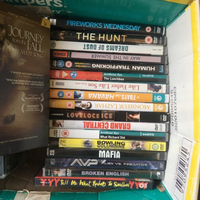Used 120+ DVDs assorted Hollywood films in Dubai, UAE