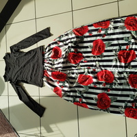 New skirt and blouse set size S