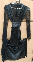 Used Black long night wear for her XL in Dubai, UAE