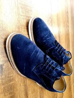 Used Navy Blue ELLE suedes Size 43 in Dubai, UAE