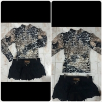 Used Unique  Longsleeve Top with Short.. in Dubai, UAE