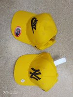 Used Yellow cap 2pcs in Dubai, UAE