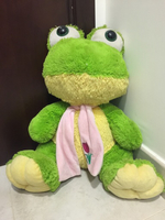 Soft toy of frog