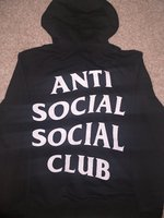 Used Anti Social Social Club hoodie in Dubai, UAE