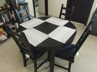Used Dining Table + 6 Chairs in Dubai, UAE