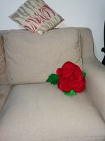 Used 2 Side cushion flower design in Dubai, UAE