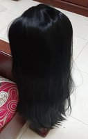 Used Straight lace wig, black ! (70 cm) in Dubai, UAE