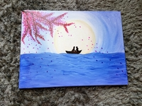 Used Handmade painting in canvas in Dubai, UAE