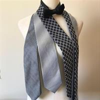 Hermes Silk Tie And Others. Bow Tie And Neck Ties From Hermes, Next And Marks& Spencer's. All 100% SILK and Authentic. Used But In Good Condition.