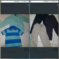 Used 3-4yrs old shirt with pants in Dubai, UAE
