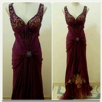 Used Elegant Fabulous Party Wear LONG DRESS in Dubai, UAE
