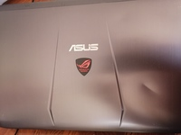 Used Asus rog 17 inch Intel i7 laptop in Dubai, UAE