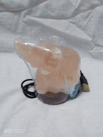 Used Himalayan salt lamp elephant in Dubai, UAE