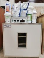 Used Egg incubator 172 eggs- almost new فقاصة in Dubai, UAE