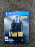 Used A way out ps4 in Dubai, UAE