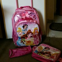 Used PRINCESS TROLLEY BAG SET in Dubai, UAE