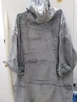 Used BLANKET HOODIE. GREY COLOR in Dubai, UAE