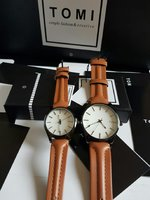 Used Couple leather Watches ' Original TOMI in Dubai, UAE
