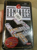 28 pcs colored dominos in a nice box