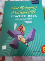 Used Maths book 8 practice book in Dubai, UAE