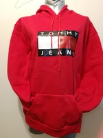 Cute Tommy red hoodie size L/Xl