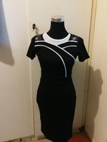 Used Elegant black dress knee length in Dubai, UAE