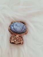 Used Gold and blue ring in Dubai, UAE