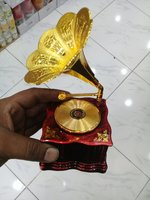 Gramophone  showpiece with  music