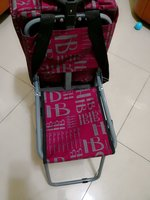 Used High quality troly bag with chair in Dubai, UAE