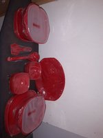 Used Dinner set 32 piece (new) +6 plate free in Dubai, UAE