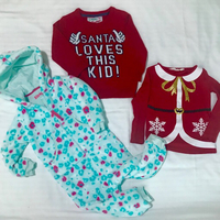 Used Christmas Clothes Bundle:18mths -2yrs  in Dubai, UAE